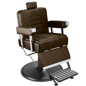 Cadeira de Barbeiro Detroit Marri pé taça preto