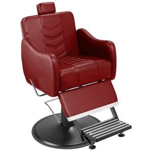 Cadeira de Barbeiro Veneza Marri pé taça preto