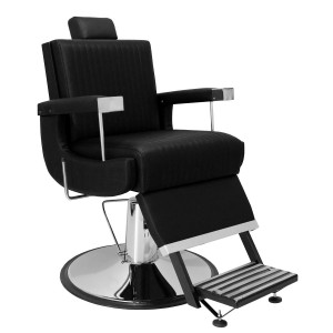 Cadeira de Barbeiro Flórida Marri base cromada
