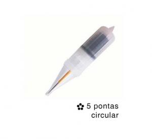 Agulha Easy Click Flox Orquidea 5 Ptas Circular - Un
