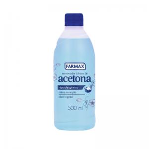 Removedor à Base de Acetona Farmax-500ml