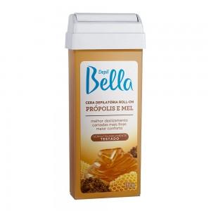 Cera Depilatória Roll-On Própolis e Mel Depil Bella-100g