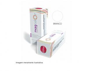 Pigmento para maquiagem definitiva Mag Color - Branco 15ml