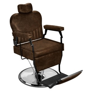 Cadeira de Barbeiro Barber Classic Base Cromada