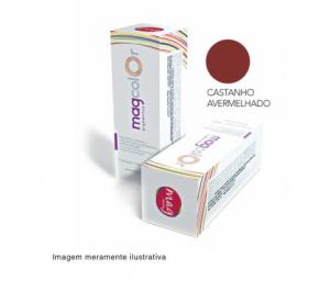 Pigmento para maquiagem definitiva Mag Color - Castanho Avermelhado 15ml