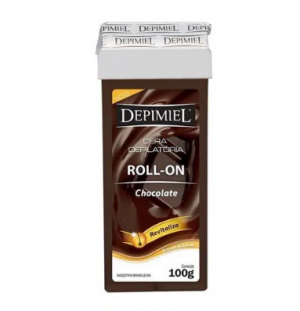 Cera Refil Roll On Depimiel Chocolate 100g