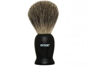 Pincel de Barba Premium Cerdas Naturais Enox