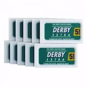 Lâmina Barbear Derby Extra Platinum - Cartela