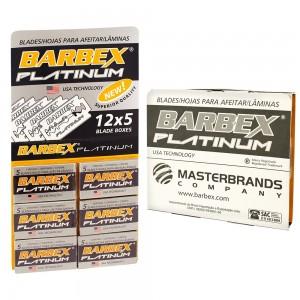 Lâmina Barbear Barbex Platinum - Cartela