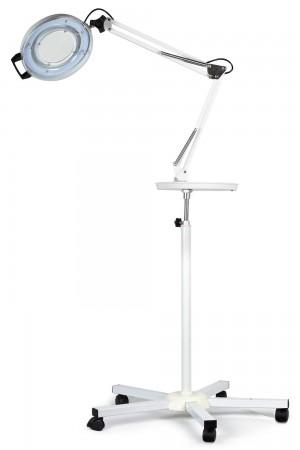 Lupa com iluminação LED c/ bandeja com tripé Autovolt - Estek
