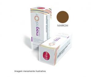 Pigmento para maquiagem definitiva Mag Color - Marrom 15ml