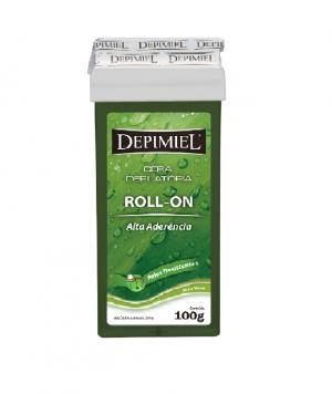 Cera Depilatória Roll-on Alta Aderência Depimiel-100g