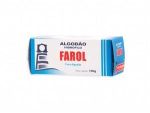 Algodão Hidrófilo Farol-100g