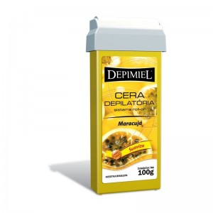 Cera Depilatória Roll-on Maracujá Depimiel-100g