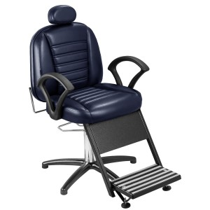 Cadeira de Barbeiro Madri Base Penta Pé Marri