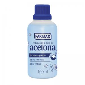 Removedor à Base de Acetona Farmax-100ml