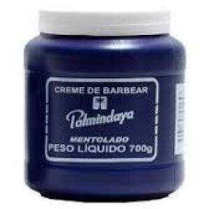 Creme De Barbear Palmindaya Mentolado 700g - Profissional