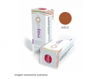 Pigmento para maquiagem definitiva Mag Color - Avelã 15ml
