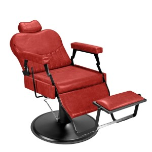 Cadeira de Barbeiro Barber Classic Pé Preto