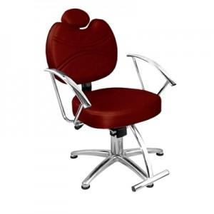Cadeira de Cabeleireiro Fixa Vitória Marri-Bordo