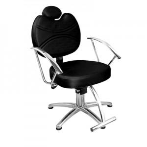 Cadeira de Cabeleireiro Fixa Vitória Marri-Preto