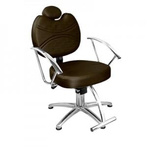 Cadeira de Cabeleireiro Fixa Vitória Marri-Café
