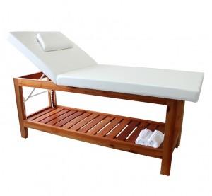 Maca Reclinável Cama Massagem Estética Oasis Kixiki