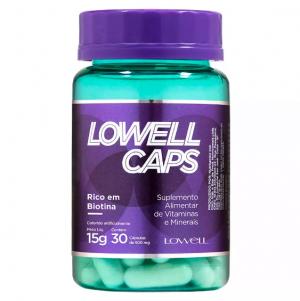 Lowell Caps - Cápsulas de Crescimento