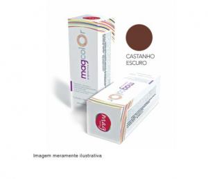 Pigmento para maquiagem definitiva Mag Color - Castanho Escuro 15ml