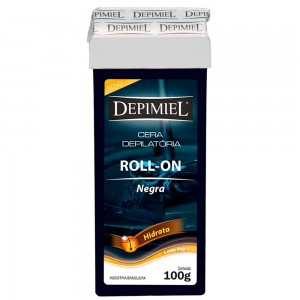 Cera Depilatória Roll-on Negra Depimiel-100g