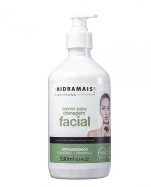 Hidramais Drenagem Facial - Creme de Massagem 500ml
