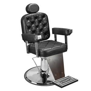 Cadeira Dubai Barber Marri pé taça cromado