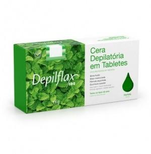 Cera Depilatória Hortelã Depilflax