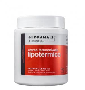 Hidramais Termoativado Lipotérmico - Creme Modelador Corporal 1000g