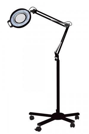 Lupa com iluminação LED s/ bandeja com tripé Autovolt - Estek