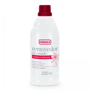 Removedor de Esmalte sem Acetona Farmax-200ml