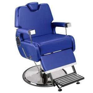 Cadeira de Barbeiro Sevilha Marri pé taça cromado