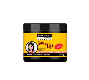 Mascara de Hidradação Super Concentrada Sou + Liso Premium – Pró-Thess - 350g