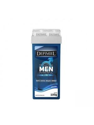 Cera Depilatória Roll-on Depimiel Men PowerFul - 100g